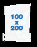100 sacs Lisses 100 X 200 mm