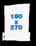 100 sacs Lisses 180 X 270 mm
