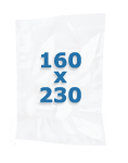 100 sacs gaufrés 160 X 230 mm