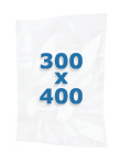 100 sacs gaufrés 300 X 400 mm