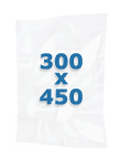 100 sacs gaufrés 300 X 450 mm