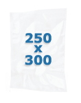 100 sacs gaufrés 250 X 300 mm