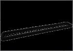 2 Joints néoprène 32,5 cm pr machine sous vide familly