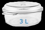 Offre spéciale: Boîte ronde 3L+ Boîte ronde 3L+ Boîte ronde 3L